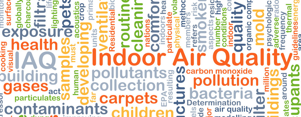 You might not realize it, but the air in your home might be very polluted - clean it up in 4 easy steps!