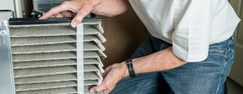 Changed your filter lately? If you can't remember when - or even where it is - do your HVAC and family a favor and replace it right now!